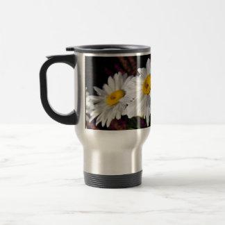 Three Daisies in the Sun - Travel Mug