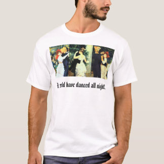 Three Dance Painting by Renoir T-Shirt