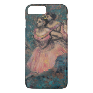 Three Dancers in Red Costume by Edgar Degas iPhone 7 Plus Case