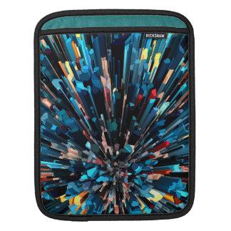 Three Dimensional Color Stacks iPad Sleeves