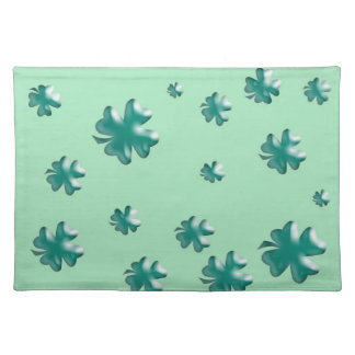 Three-dimensional Four-Leaf Clover Placemat