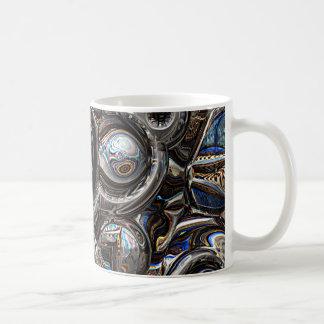 Three Dimensional Reflections Coffee Mug