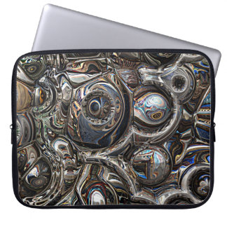 Three Dimensional Reflections Laptop Sleeve