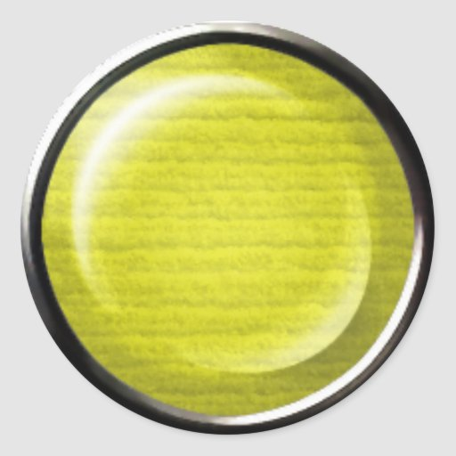 THREE DIMENSIONAL YELLOW POLKADOTS CIRCLES BUTTONS STICKERS