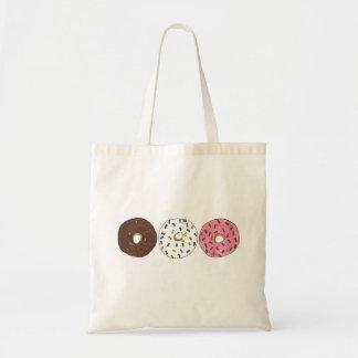 Three Donuts with Sprinkles Doughnut Foodie Bag