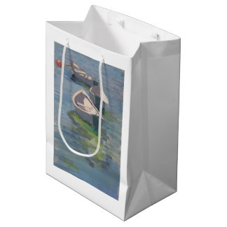 Three Dories print on gift bag