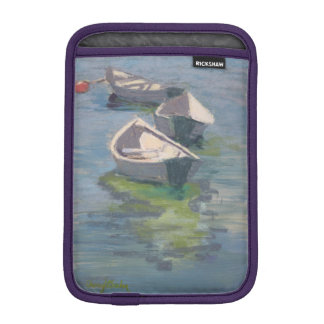 Three Dories print on iPad Mini sleeve