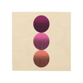 Three Dots Wood Wall Art