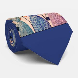 three dresses from 1953 print tie