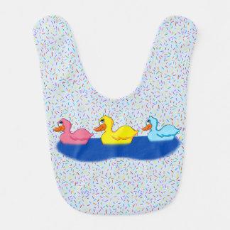 Three Ducks Baby Bib