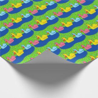 Three Ducks Wrapping Paper