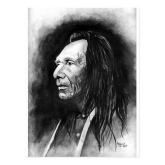 Three Eagles Nez-Perce Postcard