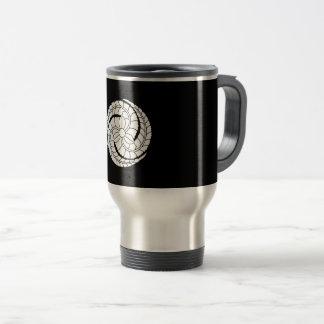 Three eddied the rattan travel mug