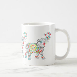 Three Elephants Mug