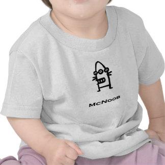 Three Eye Bot McNoob T-shirt
