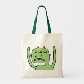 Three Eye Monster Tote Bag