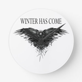 Three eyed raven! Game of thrones new season! Wallclock