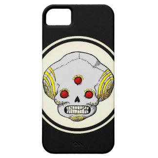 Three Eyed Skull Barely There iPhone 5 Case