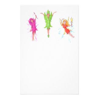 Three Fairies Stationery