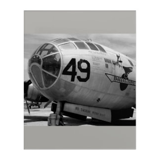Three Feathers B-29 Superfortress Acrylic Wall Art