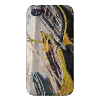 Three Fishing Boats - Claude Monet Cover For iPhone 4