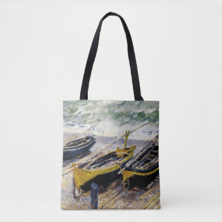 Three Fishing Boats Tote Bag