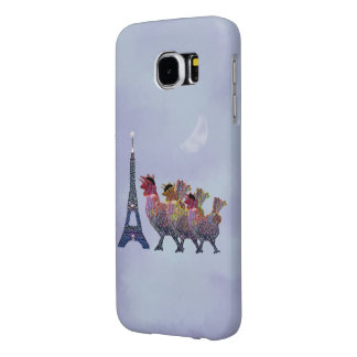 Three French Hens Samsung Galaxy S6 Cases
