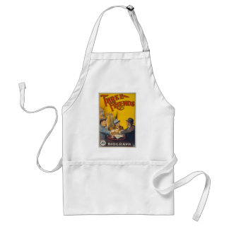 Three Friends Movie Poster Aprons