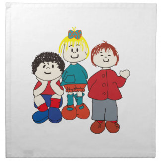Three Friends Napkins