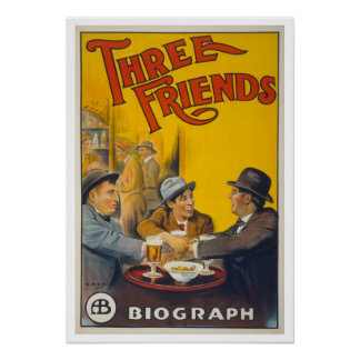 Three Friends Poster