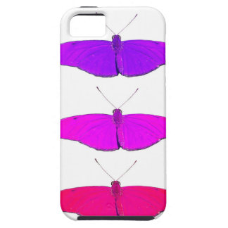 three fuchsia wink butterflies tough iPhone 5 case