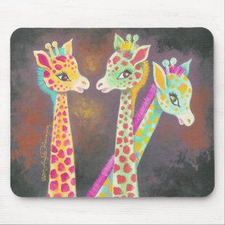 Three Giraffes Mousepads
