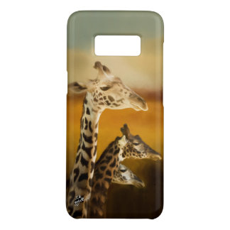 Three Giraffes Photographic Artistic Elegant Case-Mate Samsung Galaxy S8 Case