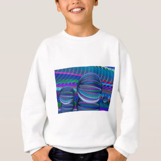 Three Glass balls in colour Sweatshirt
