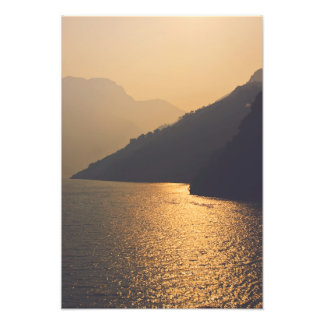 Three Gorges at Sunset Photo Print