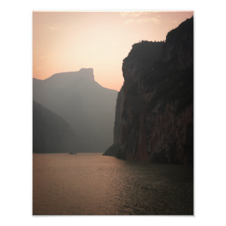Three Gorges Sunset Photo Print