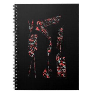Three Graces Notebook