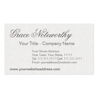 Three Graces / Three Muses Classical Greek Business Card