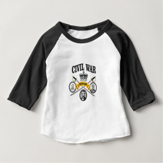 three great leaders of Civil war Baby T-Shirt