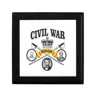 three great leaders of Civil war Small Square Gift Box