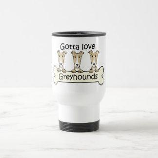 Three Greyhounds Coffee Mugs