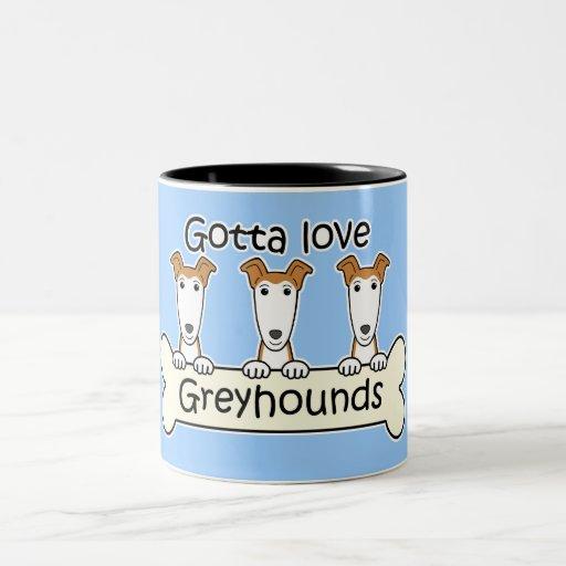 Three Greyhounds Mug