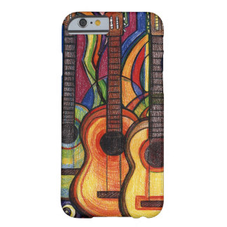 Three Guitars Barely There iPhone 6 Case