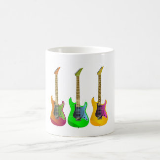 Three Guitars Coffee Mug