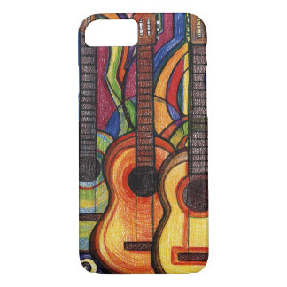 Three Guitars iPhone 8/7 Case