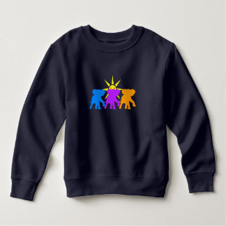 Three Happy elephants Sweatshirt