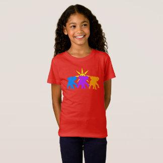 Three Happy elephants T-Shirt