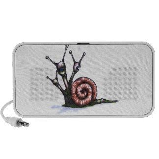 Three Headed Snail Notebook Speaker