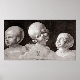 Three Heads of Children, 1506 Poster