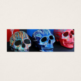 Three Heads (skulls) Mini Business Card